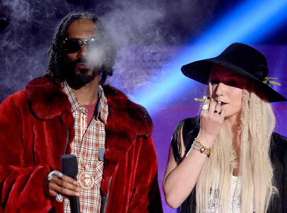 MTV Movie Awards Show, Snoop Dogg, Kesha, Ke$ha