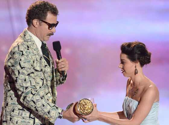 MTV Movie Awards Show, Will Ferrell, Aubrey Plaza