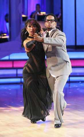 Cheryl Burke, D.L. Hughley, Dancing With The Stars