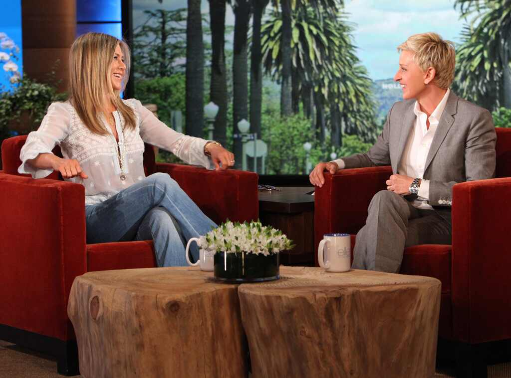 Jennifer Aniston, The Ellen DeGeneres Show