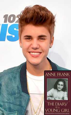 Justin Bieber, Diary of Anne Frank