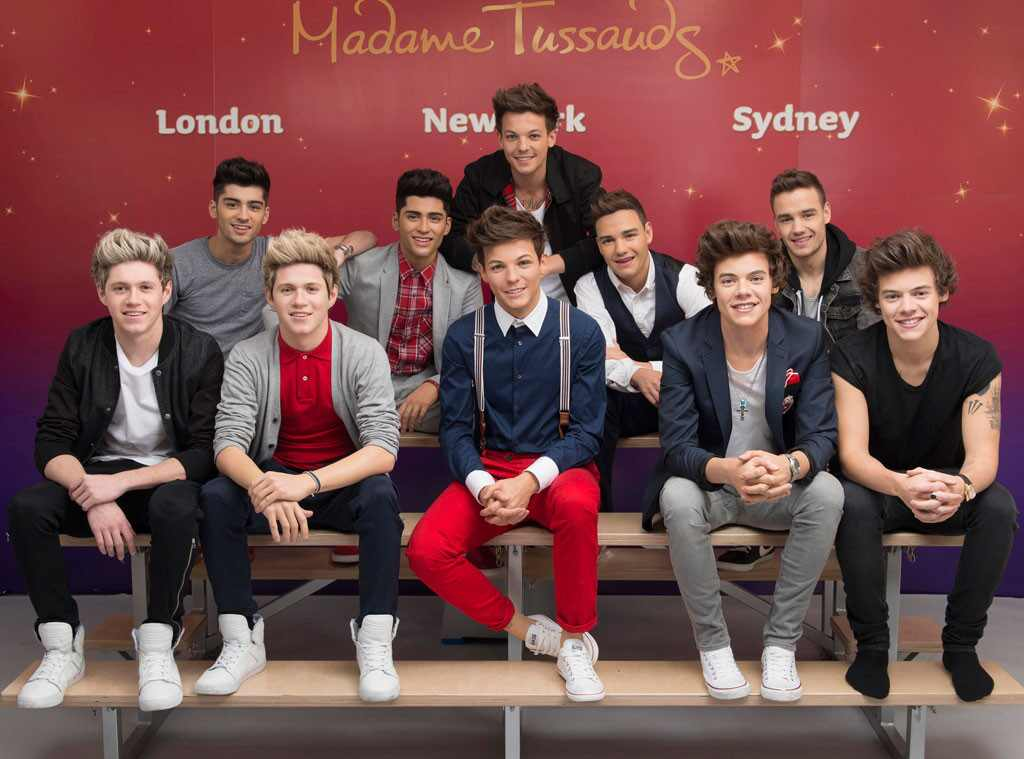 One Direction, Madame Tussauds Wax Figures