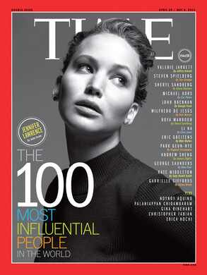 Jennifer Lawrence, Time Magazine
