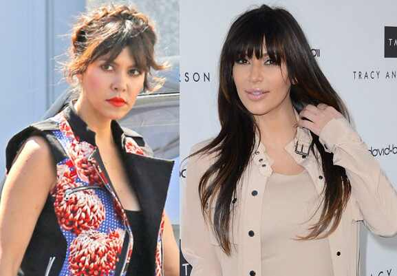 Franjas Kim e Kourtney