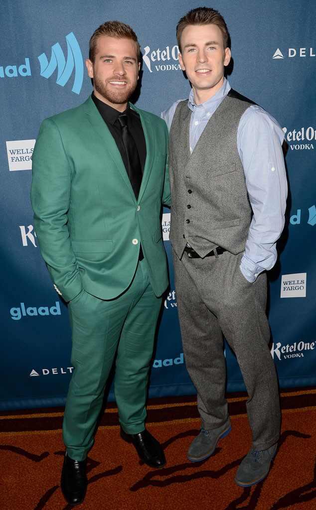 Chris Evans, Scott Evans, GLAAD Media Awards