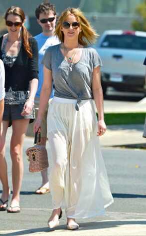 Jennifer Lawrence tem truque para se manter em forma