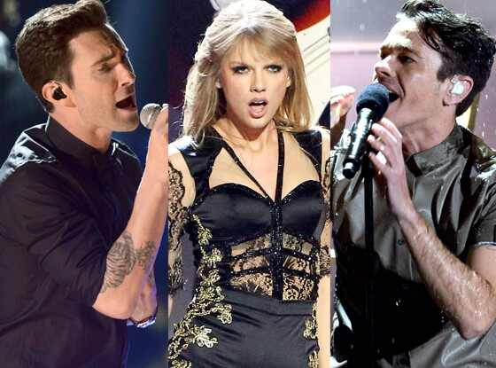 Maroon 5, Taylor Swift, Fun.