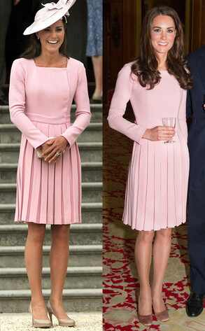 Kate Middleton, Duchess Catherine, Recycled celeb