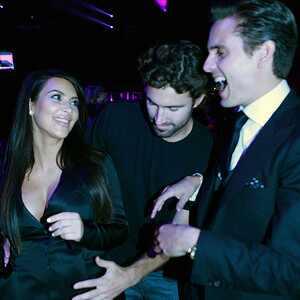 Kim Kardasian, Brody Jenner, Upfronts