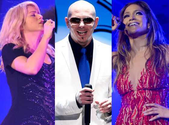 Shakira, Pitbull, Jennifer Lopez