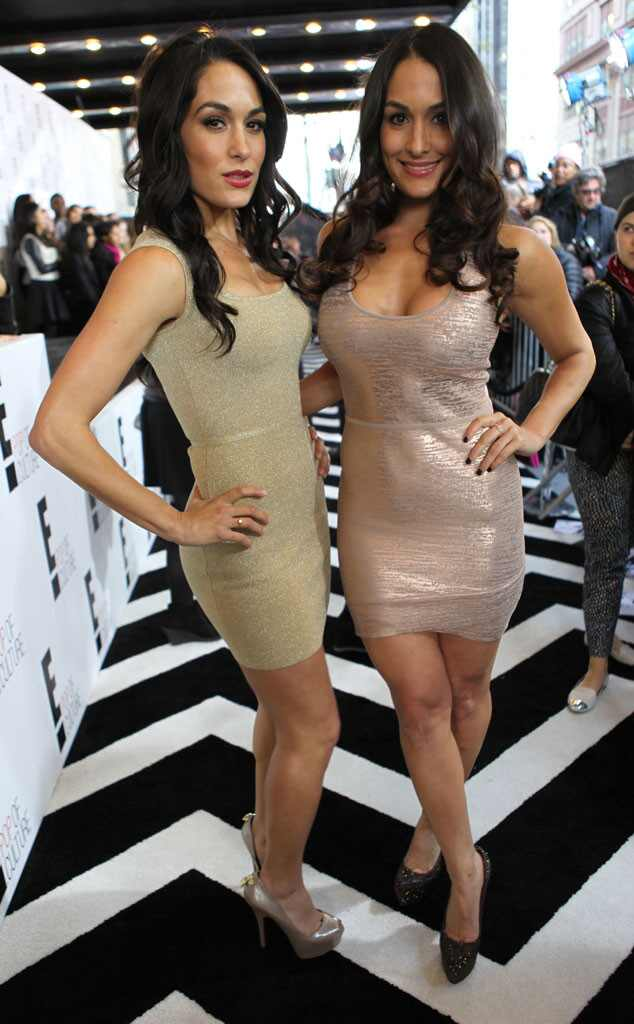 The Bella Twins, Upfronts