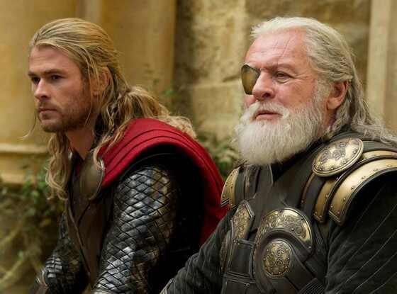 Thor Dark World, Chris Hemsworth, Anthony Hopkins