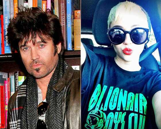 Billy Ray Cyrus, Miley Cyrus