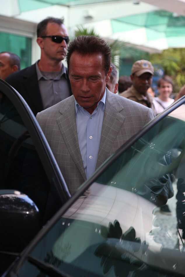 Arnold Schwarzenegger, Brasil, Arnold Schwarzenegger no Brasil