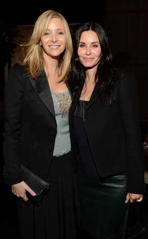 Lisa Kudrow, Courteney Cox