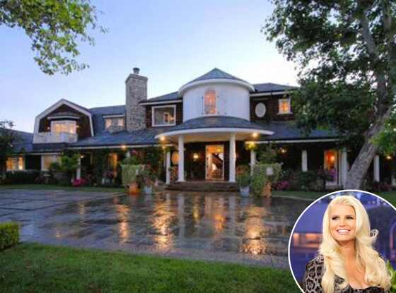 Jessica Simpson, Ozzy Osbournes house