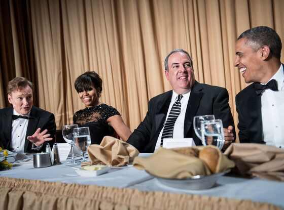 Michelle Obama, Michael Clemente, Conan O