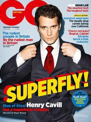 Henry Cavill, GQ