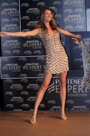 Gisele Bündchen em evento da Pantene