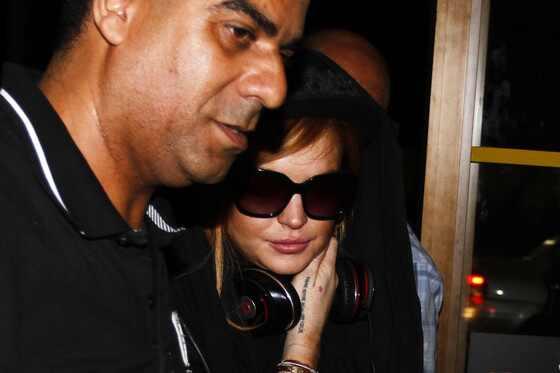 Lindsay Lohan deixa o Brasil