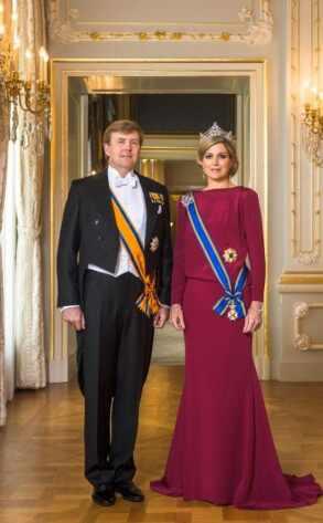 Primera imagen de Máxima y Guillermo como Reyes de los Países Bajos