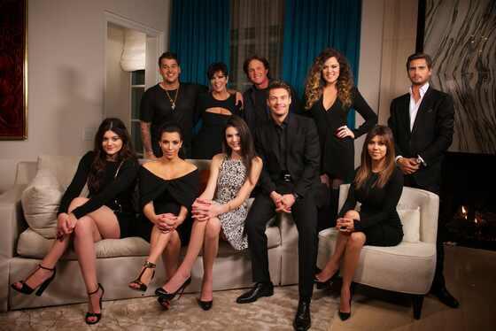 Kardashians con Ryan Seacrest