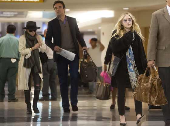 Mary-Kate Olsen, Ashley Olsen, Olivier Sarkozy