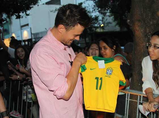 Fergie e Josh Duhamel no Brasil