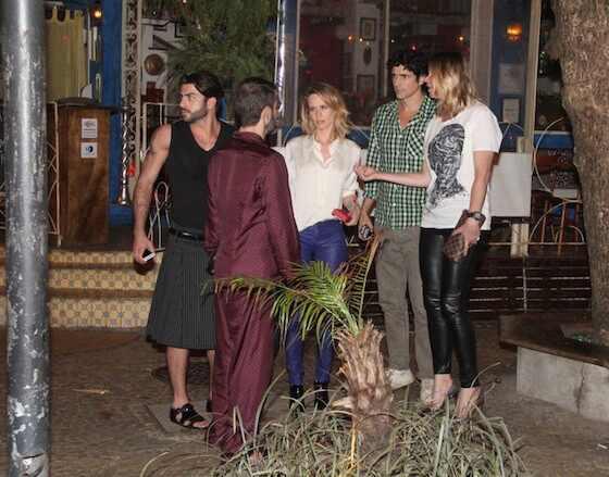 Marc Jacobs, Harry Louis, Mariana Ximenes, Reynaldo Gianecchini