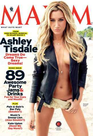 Ashley Tisdale, Maxim