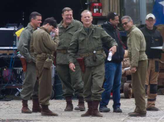 George Clooney, Matt Damon, Bill Murray, John Goodman