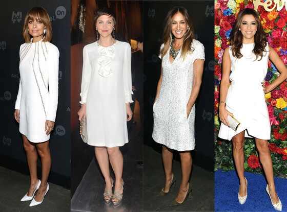 Nicole Richie, Maggie Gyllenhaal, Sarah Jessica Parker, Eva Longoria