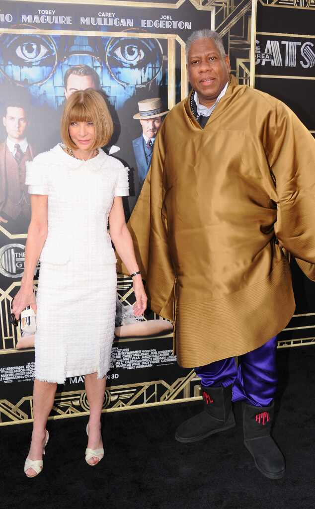 Anna Wintour, Andre Leon Talley, The Great Gatsby Premiere