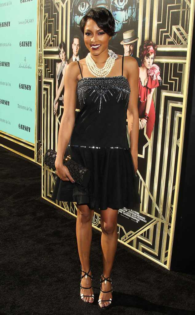 Alicia Quarles, The Great Gatsby Premiere