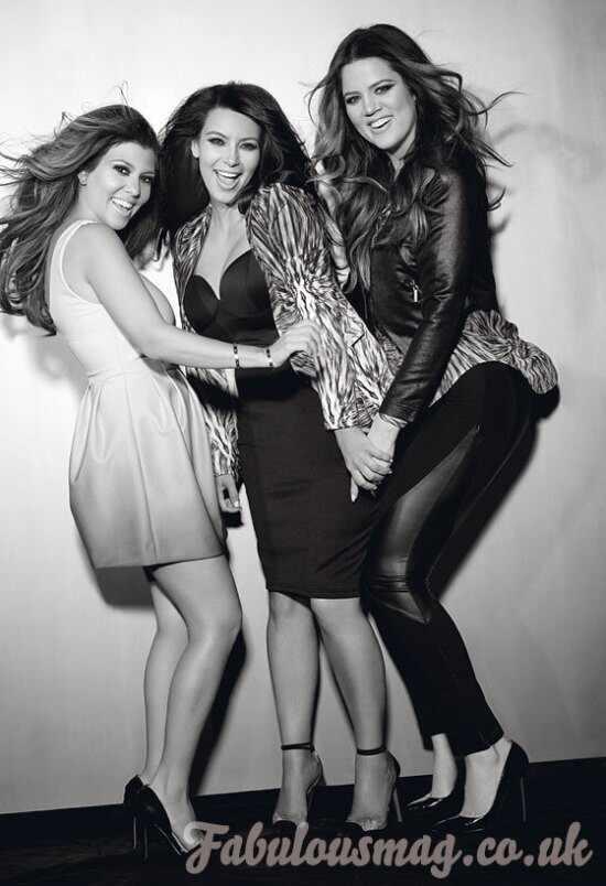 Kim Kardashian, Kourtney Kardashian, Khloe Kardashian, Fabulous