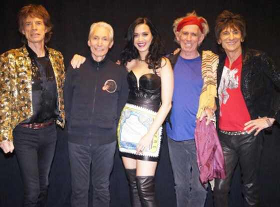 Katy Perry, Rolling Stones
