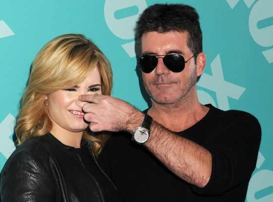 Demi Lovato, Simon Cowell