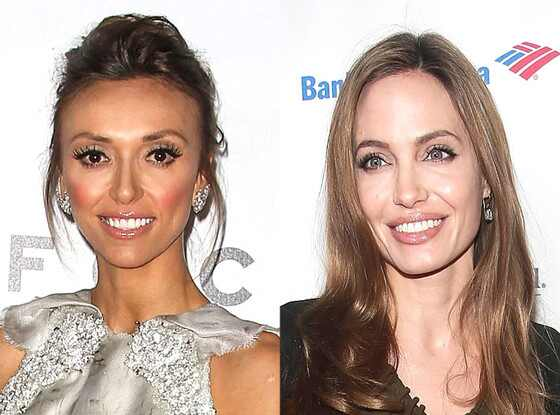 Giuliana Rancic, Angelina Jolie