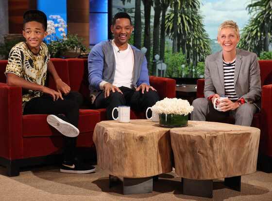 Jaden Smith, Will Smith, Ellen Degeneres Show
