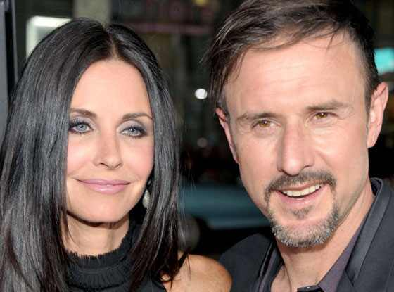 Courteney Cox, David Arquette