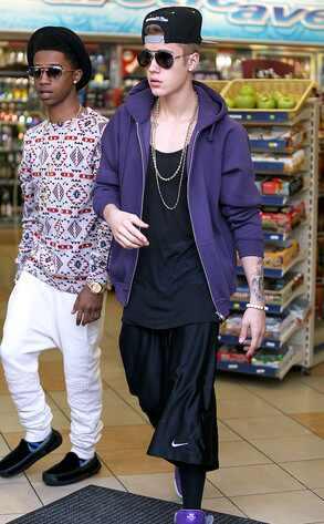 Justin Bieber , Lil Twist