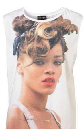 Rihanna, Topshop Tshirt