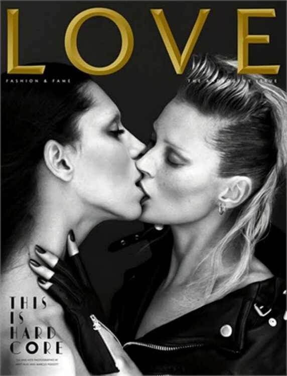 Lea T, Kate Moss