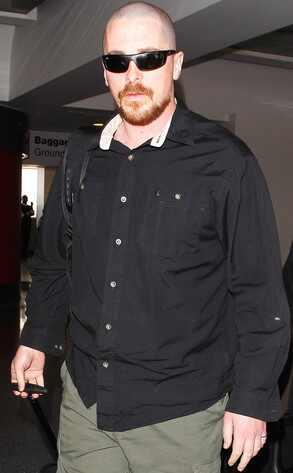 Christian Bale, Bald
