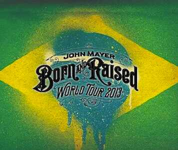 John Mayer, Born and Raised Tour Brasil