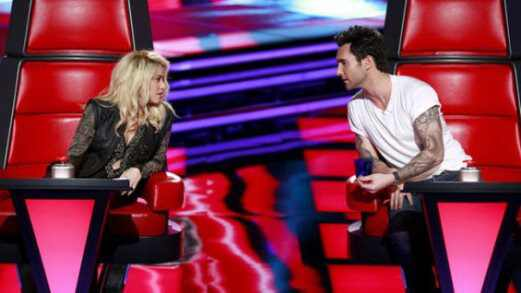Shakira, Adam Levine, The Voice