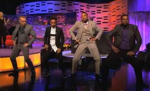 Will Smith, Jayden Smith, Graham Norton, Alfonso Ribeiro