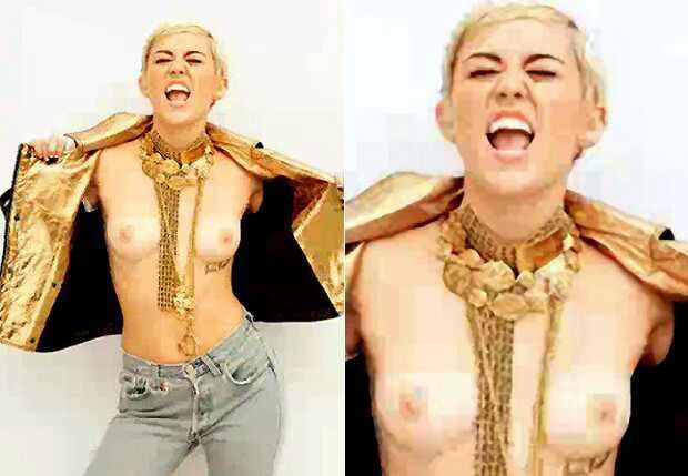 Miley Cyrus seios