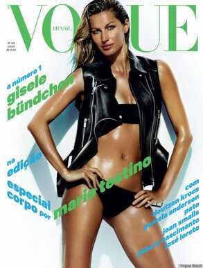 Gisele Bundchen, Vogue Brazil