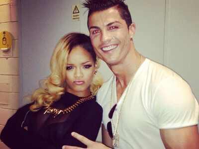 Rihanna, Cristiana Ronaldo